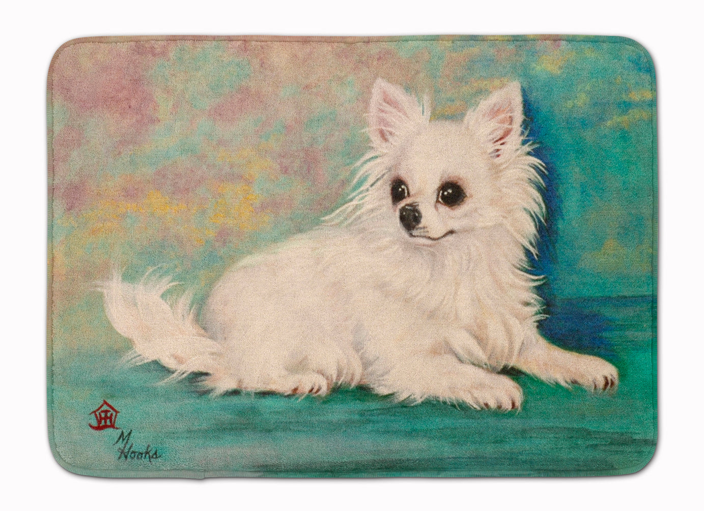 Chihuahua Queen Mother Machine Washable Memory Foam Mat MH1057RUG by Caroline's Treasures