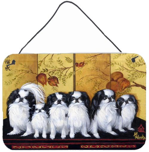 Japanese Chin Tea House Wall or Door Hanging Prints MH1060DS812 by Caroline's Treasures