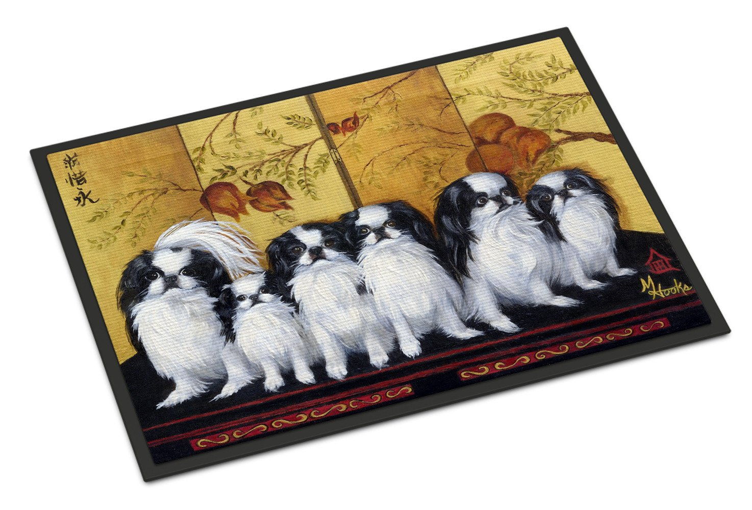 Japanese Chin Tea House Indoor or Outdoor Mat 24x36 MH1060JMAT - the-store.com