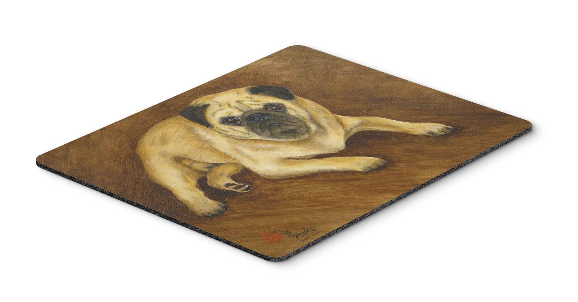 Fawn Pug Roscoe Mouse Pad, Hot Pad or Trivet MH1062MP by Caroline's Treasures