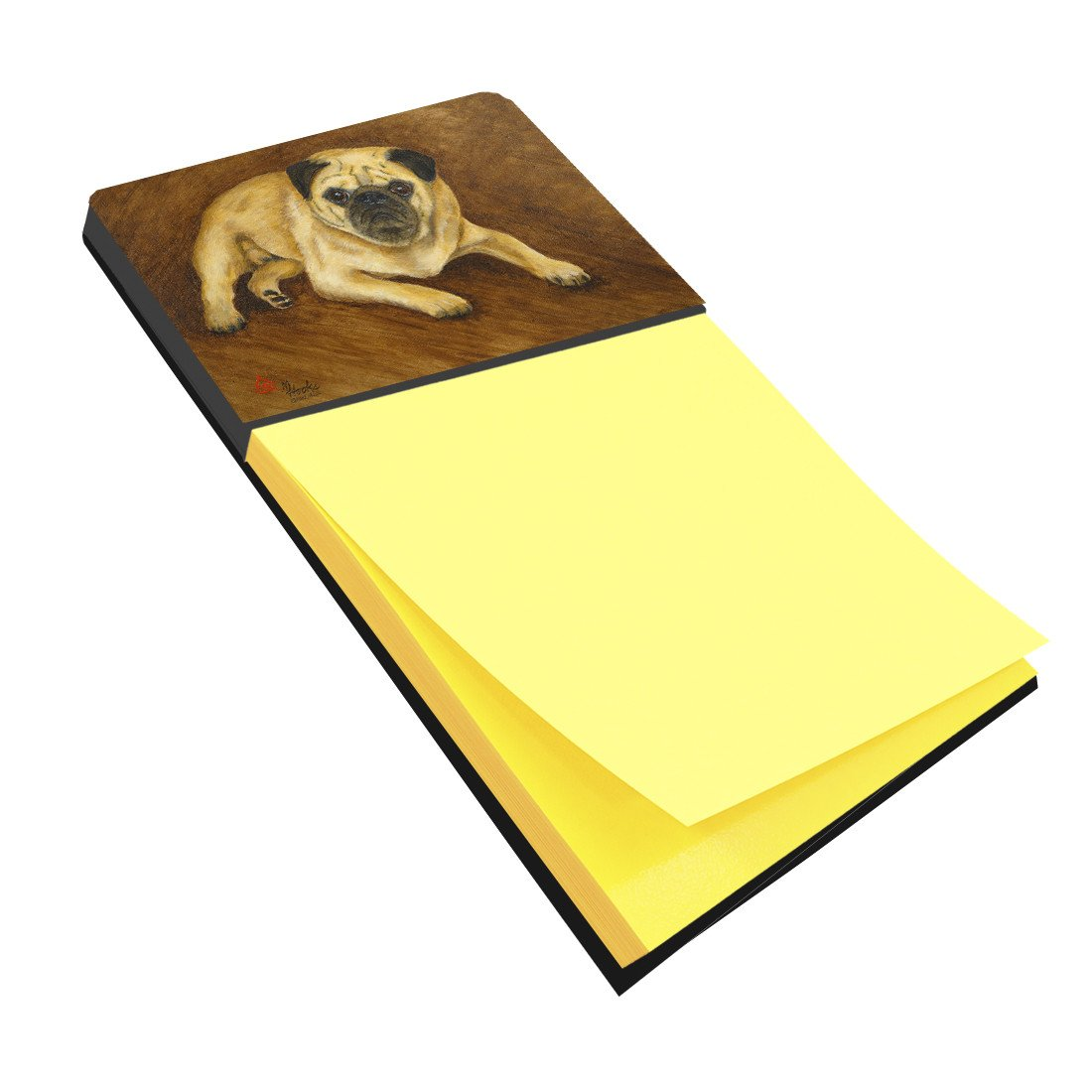 Fawn Pug Roscoe Sticky Note Holder MH1062SN by Caroline's Treasures