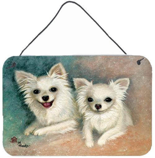 Chihuahua The Siblings Wall or Door Hanging Prints MH1064DS812 by Caroline's Treasures