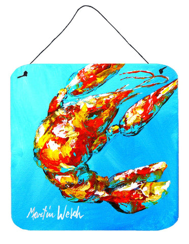 Buy this Crawfish Baby Craw Aluminium Metal Wall or Door Hanging Prints