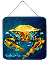 Crab Catch Up Aluminium Metal Wall or Door Hanging Prints - the-store.com