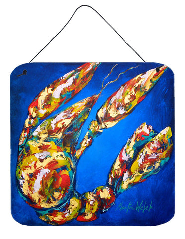Buy this Crawfish Crawfish In Maryland Aluminium Metal Wall or Door Hanging Prints