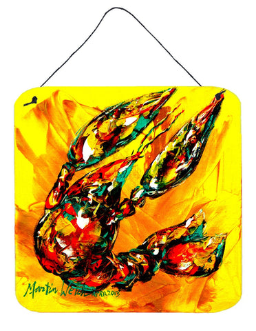 Buy this Crawfish Crawfish on the Move Aluminium Metal Wall or Door Hanging Prints