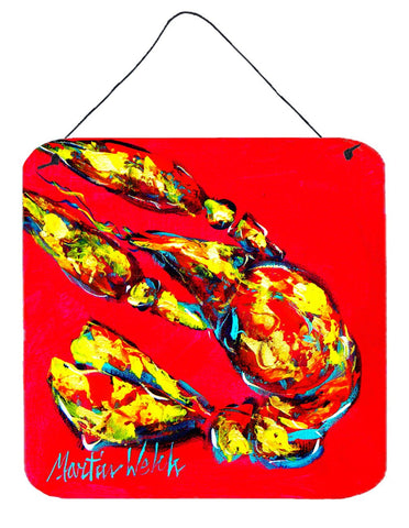 Buy this Crawfish Crunch Time Aluminium Metal Wall or Door Hanging Prints
