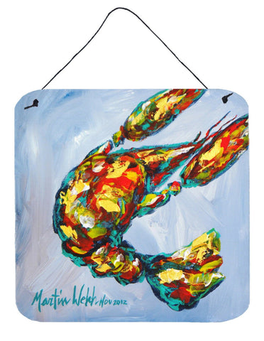 Buy this Crawfish Iced Crawfish Aluminium Metal Wall or Door Hanging Prints
