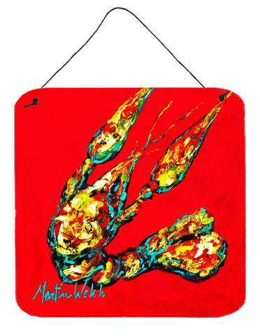 Buy this Crawfish Knuckles Aluminium Metal Wall or Door Hanging Prints