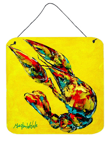 Buy this Crawfish Lemon Juice Aluminium Metal Wall or Door Hanging Prints
