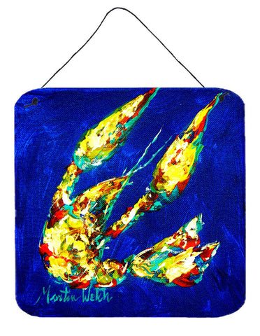 Buy this Crawfish Little Blue Aluminium Metal Wall or Door Hanging Prints