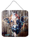 Cow Moo Shine Aluminium Metal Wall or Door Hanging Prints by Caroline's Treasures