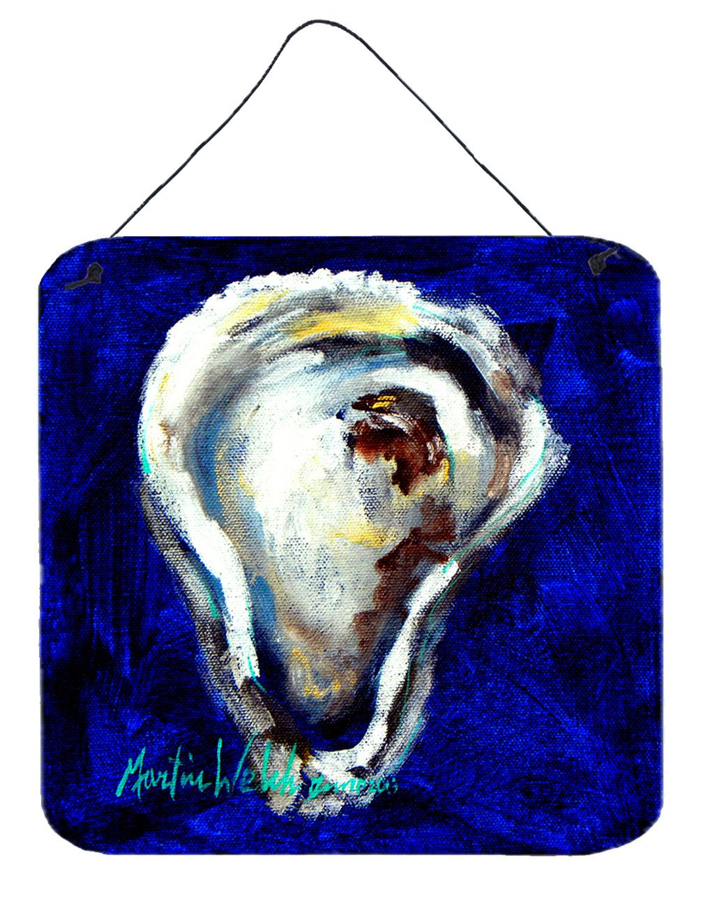 Buy this Oyster One Shell Aluminium Metal Wall or Door Hanging Prints