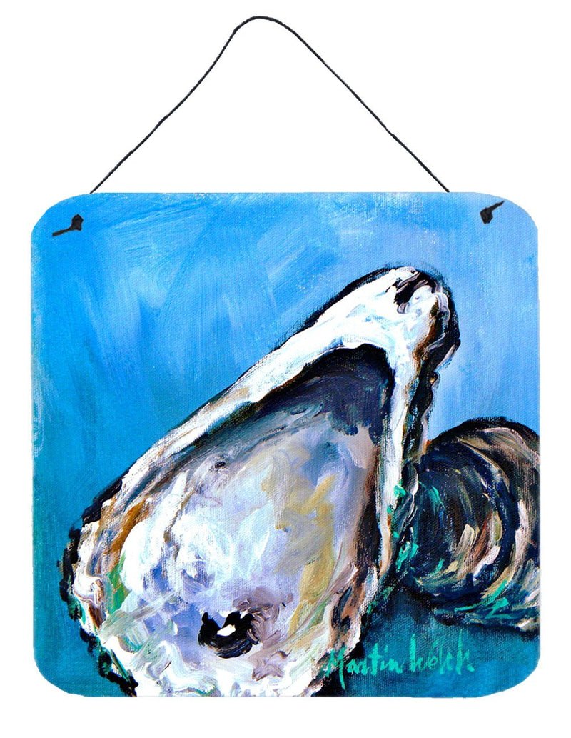 Buy this Oyster Oyster Blue Aluminium Metal Wall or Door Hanging Prints