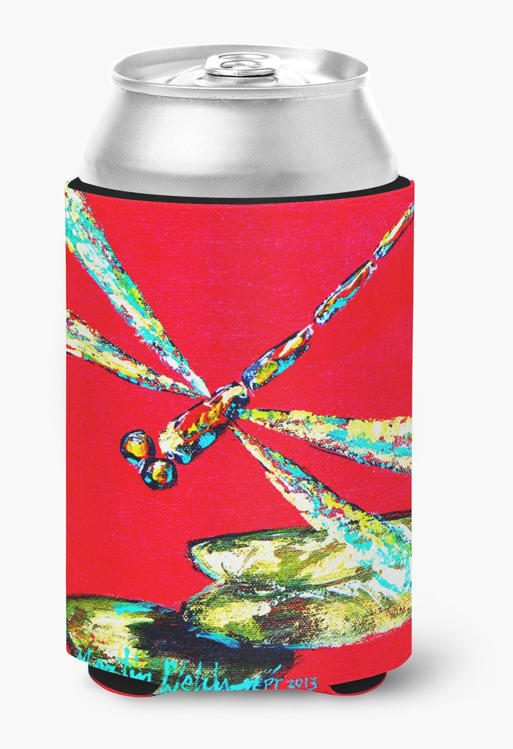 Insect - Dragonfly Shoo-Fly Can or Bottle Beverage Insulator Hugger by Caroline's Treasures