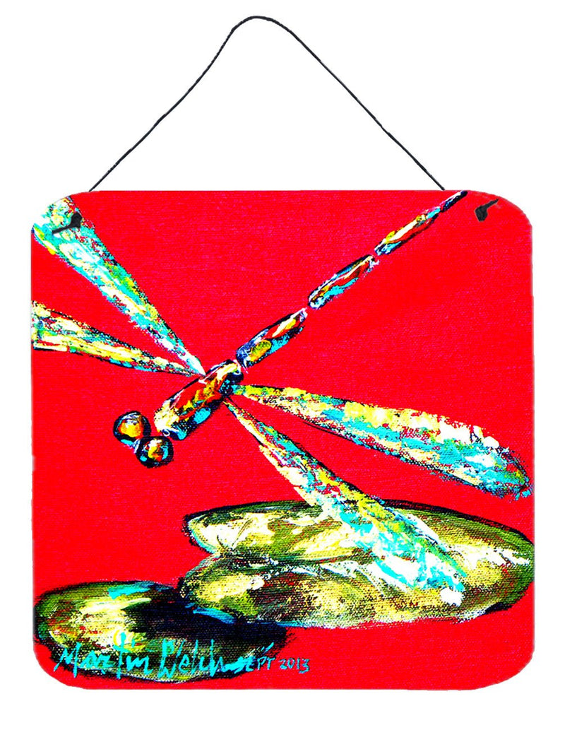 Buy this Insect - Dragonfly Shoo-Fly Aluminium Metal Wall or Door Hanging Prints