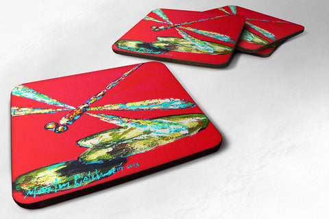 Buy this Set of 4 Insect - Dragonfly Shoo-Fly Foam Coasters