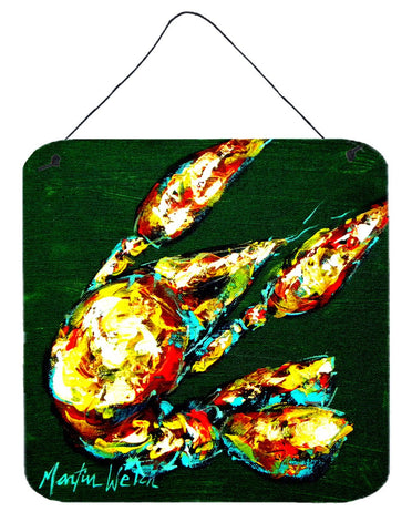 Buy this Crawfish Smudge Aluminium Metal Wall or Door Hanging Prints