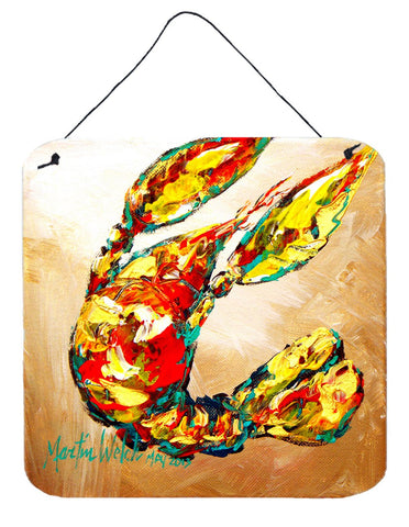 Buy this Crawfish Tanya Aluminium Metal Wall or Door Hanging Prints
