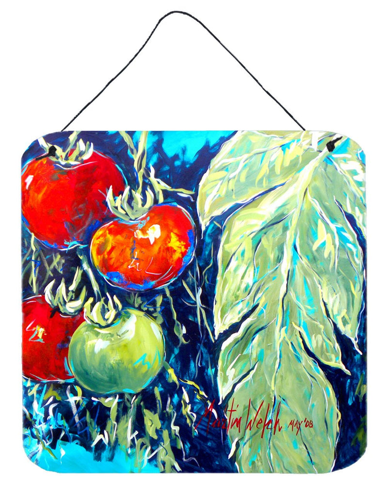 Buy this Vegetables - Tomato Tomaeto-Tomaato Aluminium Metal Wall or Door Hanging Prints