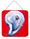 Oyster Wiggle My Shell Aluminium Metal Wall or Door Hanging Prints by Caroline's Treasures