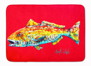Buy this Fish - Red Fish Alphonzo Machine Washable Memory Foam Mat MW1084RUG