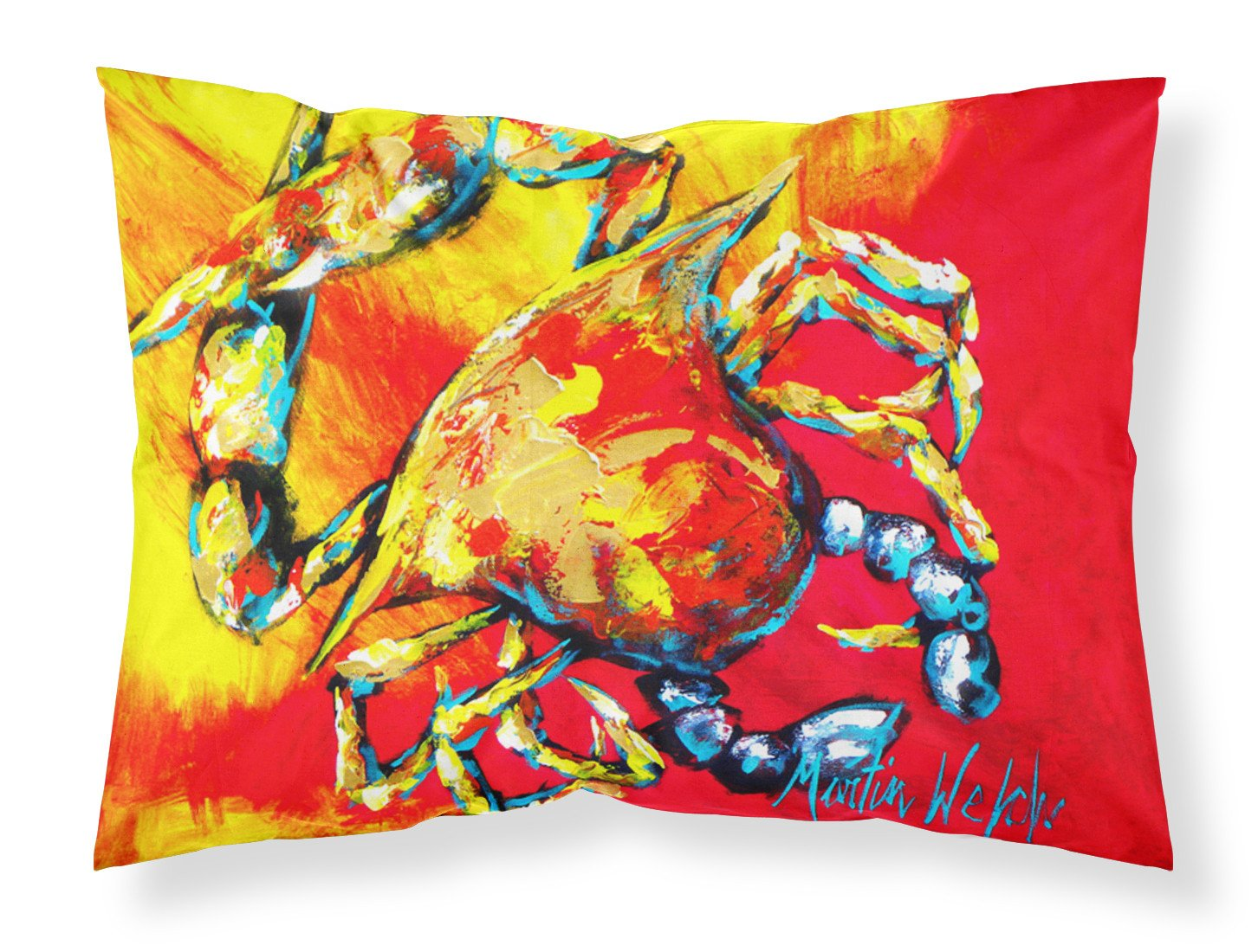 Buy this Crab Hot Dang Moisture wicking Fabric standard pillowcase