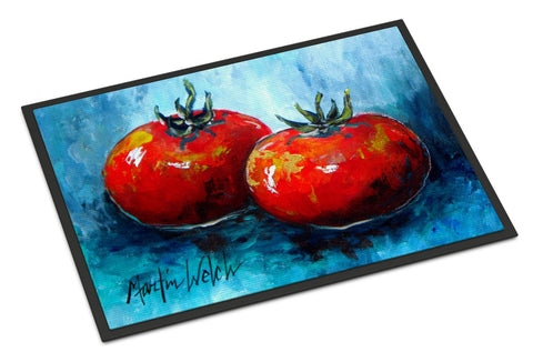 Buy this Vegetables - Tomatoes Red Toes Indoor or Outdoor Mat 24x36 Doormat