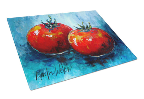 Buy this Vegetables - Tomatoes Red Toes Glass Cutting Board Large
