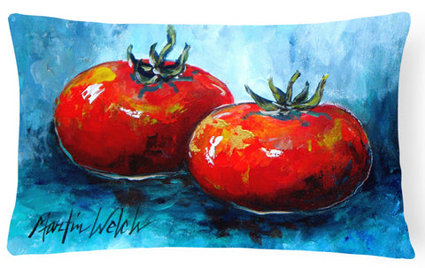 Buy this Vegetables - Tomatoes Red Toes   Canvas Fabric Decorative Pillow