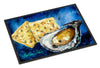 Oysters Two Crackers Indoor or Outdoor Mat 24x36 Doormat - the-store.com