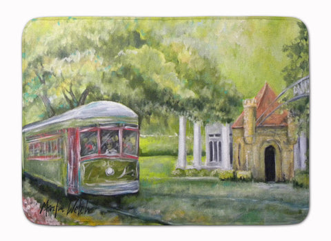Buy this Streetcar Next Stop Audubon Park Machine Washable Memory Foam Mat MW1091RUG