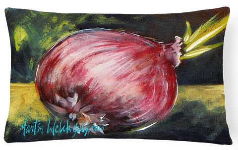 Buy this Vegetables - Onion One-Yun   Canvas Fabric Decorative Pillow