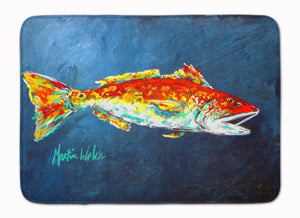 Buy this Fish - Red Fish Red for Jarett Machine Washable Memory Foam Mat MW1093RUG
