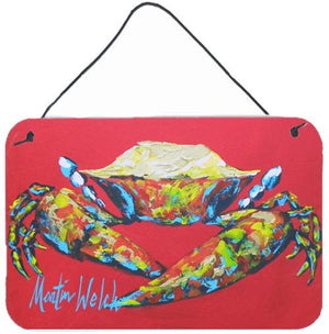 Buy this Crab Seafood One Aluminium Metal Wall or Door Hanging Prints