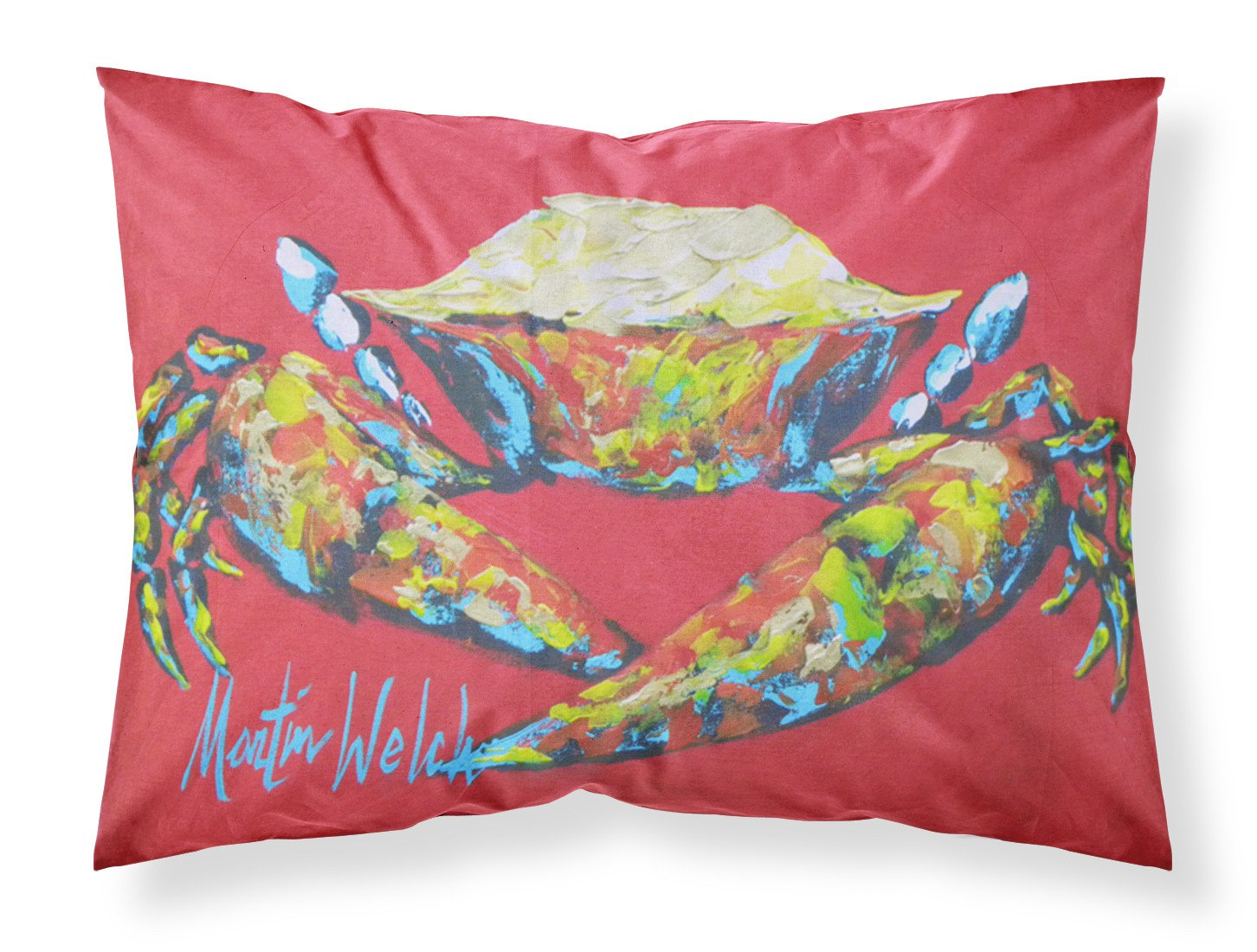 Buy this Crab Seafood One Moisture wicking Fabric standard pillowcase
