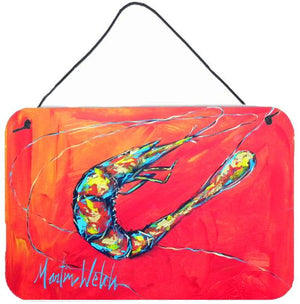 Buy this Shrimp Seafood Three Aluminium Metal Wall or Door Hanging Prints