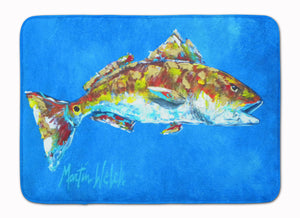 Buy this Fish - Red Fish Seafood Two Machine Washable Memory Foam Mat MW1098RUG