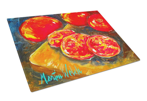 Buy this Vegetables - Tomatoes Slice It Up Glass Cutting Board Large