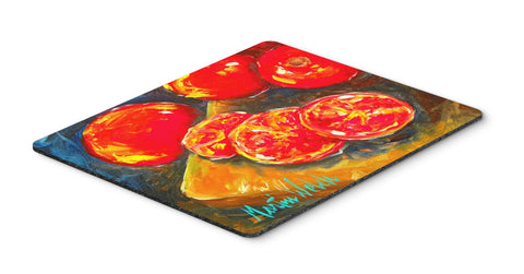 Buy this Vegetables - Tomatoes Slice It Up Mouse Pad, Hot Pad or Trivet