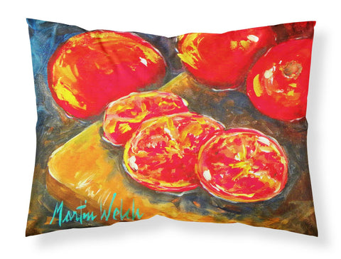 Buy this Vegetables - Tomatoes Slice It Up Moisture wicking Fabric standard pillowcase