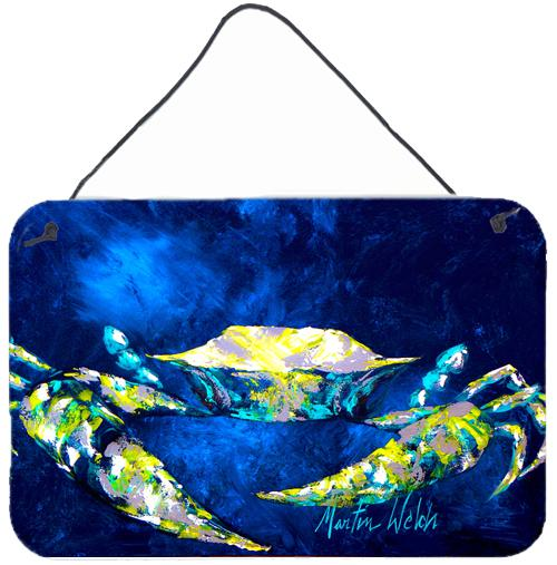 Buy this Crab Tealy Aluminium Metal Wall or Door Hanging Prints