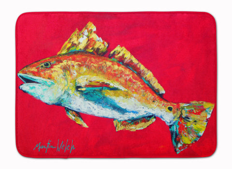 Buy this Fish - Red Fish Woo Hoo Machine Washable Memory Foam Mat MW1103RUG