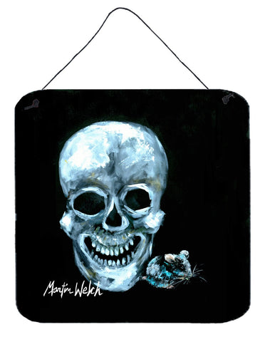 Buy this Ekk A Meece Skull and Mouse Aluminium Metal Wall or Door Hanging Prints