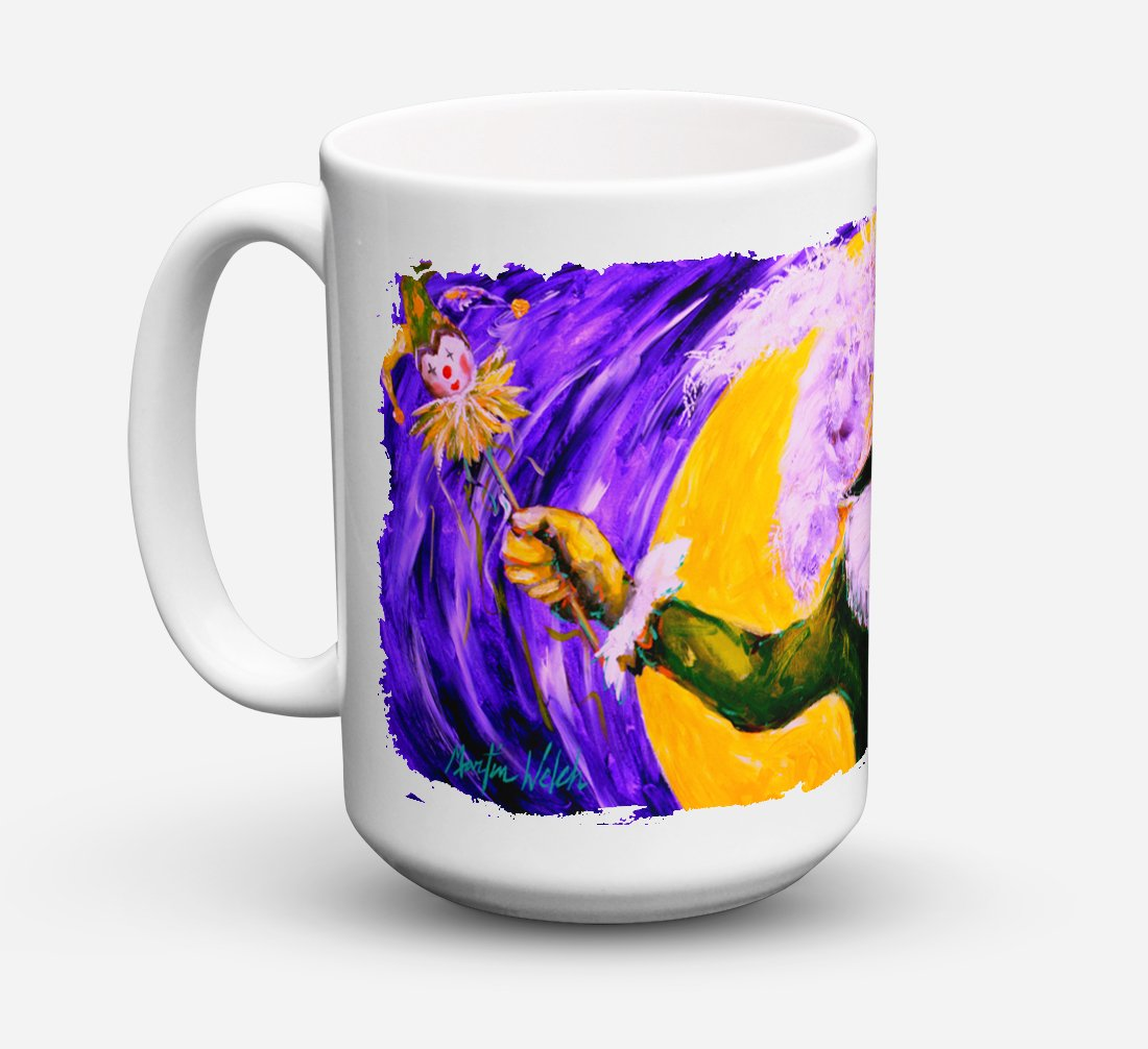 Buy this Mardi Gras Hey Mister Dishwasher Safe Microwavable Ceramic Coffee Mug 15 ounce MW1109CM15