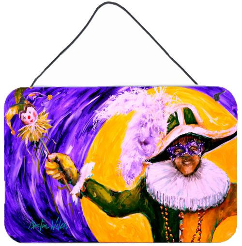 Buy this Mardi Gras Hey Mister Aluminium Metal Wall or Door Hanging Prints