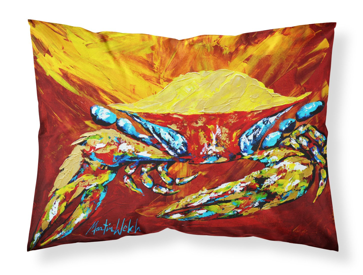 Buy this Crab Buster Brown Moisture wicking Fabric standard pillowcase