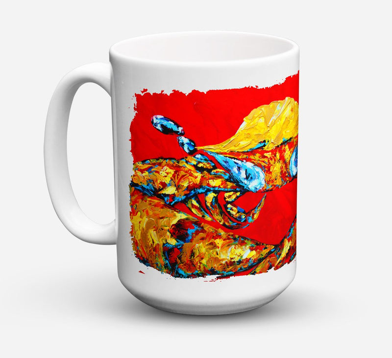 Buy this Crab Fat and Sassy Dishwasher Safe Microwavable Ceramic Coffee Mug 15 ounce MW1115CM15
