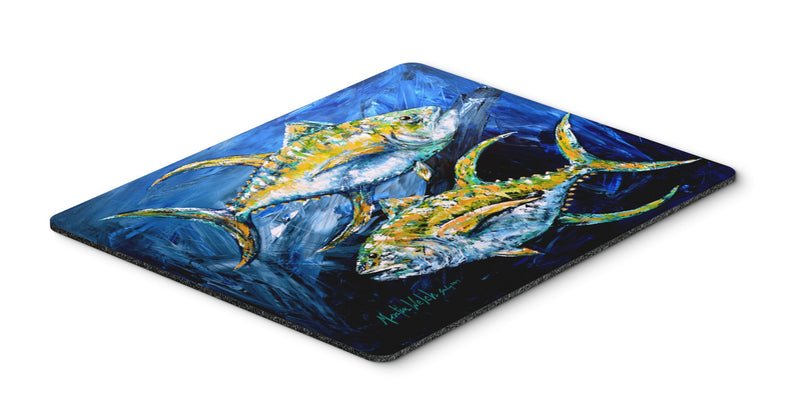 Buy this Fish - Tuna Tuna Blue Mouse Pad, Hot Pad or Trivet