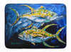 Buy this Fish - Tuna Tuna Blue Machine Washable Memory Foam Mat MW1125RUG